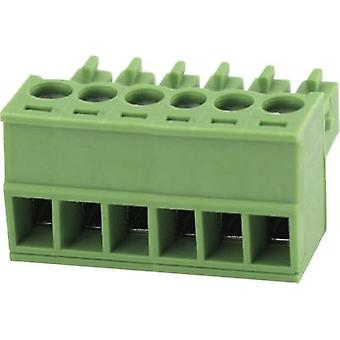 Pin enclosure - cable Total number of pins 4 Degson 15EDGK-3.5-04P-14-00AH Contact spacing: 3.5 mm 1 pc(s)