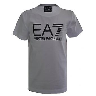 EA7 Boys EA7 Kids White T-Shirt