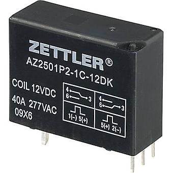 PCB relays 12 Vdc 50 A 1 change-over Zettler Electronics