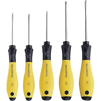 ESD Screwdriver set 5-piece Wiha 362SF TORX socket