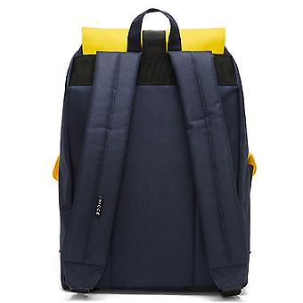 Nicce Hervi Rubber Matte Backpack - Yellow / Navy