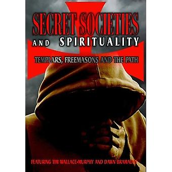 Secret Societies & spiritualitet-Tempelherrerne frimurer [DVD] USA importerer