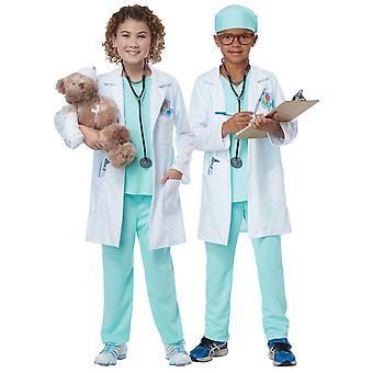 The Good Doctor Hospital Surgeon Medical Dress Up Girls Boys Costume