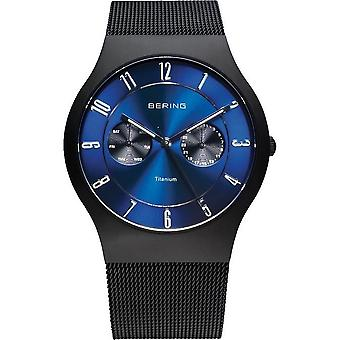 Bering watches mens watch titanium 11939-078
