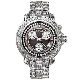 Joe Rodeo diamond men's watch - RIO silver 9.5 ctw