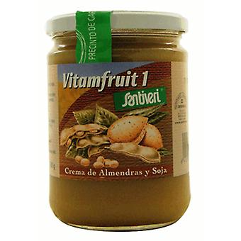 Santiveri Vitamfruit almond and soy cream 500 gr (Diet , Drinks)