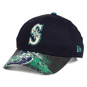 Seattle Mariners MLB New Era 9Twenty Splatter Snapback Hut