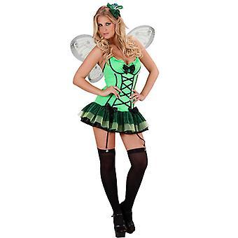 Grøn Butterfly (kjole vinger Haircomb)