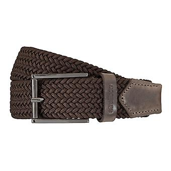Strellson belts men's belts woven belt stretch belt Brown 5949