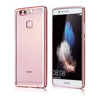 Premium TPU Silikoncase Pink for Huawei P9 bag case cover