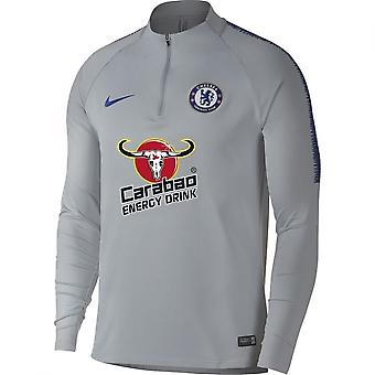 2018-2019 Chelsea Nike perceuse formation Top (loup gris)