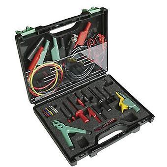 Safety terminal set 4 mm jack connector , 2 mm jack connector , 0.64 mm jack connector CAT