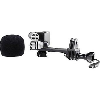 Camera microphone Renkforce GM-01 Transfer type:Corded incl. clip, incl. pop filter