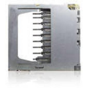 SD, MMC Card connector No. of contacts: 9 Push, Push Yamaichi