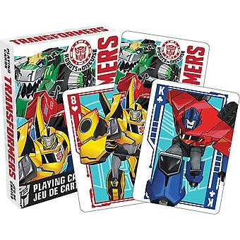 Transformers (Robots In Disguise) Set Of 52 Playing Cards (+ Jokers) (52399)
