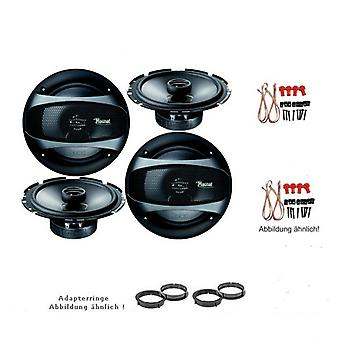 Mercedes E-class W211, speaker Kit, door front and rear