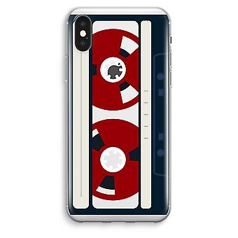 iPhone XS Max Transparent Case (Soft) - Here's your tape