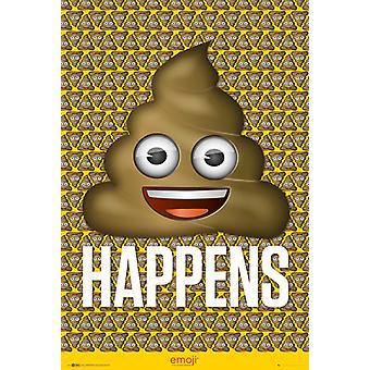 Emoji Poo Poster Poster Print