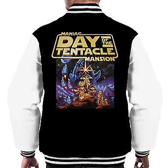 Maniac Mansion Day Of The Tentacle Men's Varsity Jacket