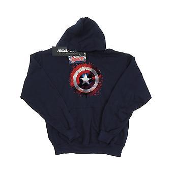 Marvel Women's Avengers Captain America Art Shield Hoodie