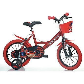 Mirakuløse 14,0 tommer Ladybug cykel