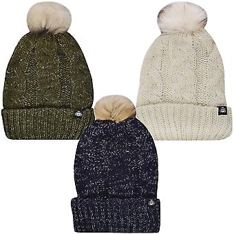 ProClimate Waterproof Thinsulate Winter Chunky Knit Pom Pom Bobble Beanie Hat