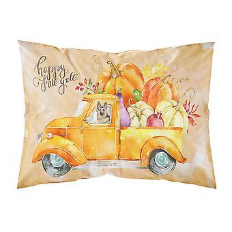Fall Harvest German Shepherd Fabric Standard Pillowcase
