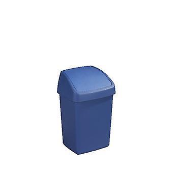 Sunware Delta afvalbak 10ltr swing blauw