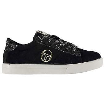 Sergio Tacchini Kids Girls Now Velvet Infant Trainers Low Lace Up Padded Ankle