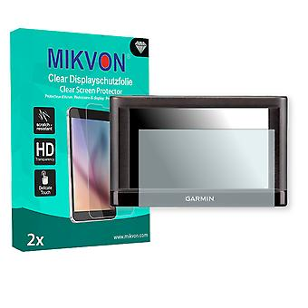 Garmin nüvi 52LM Screen Protector - Mikvon Clear (Retail Package with accessories)