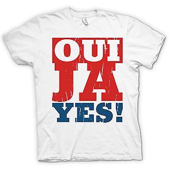 Womens T-shirt - Oui - ja - ja - lustige Sprache