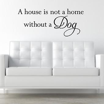 Wall Art Sticker - House is not a home