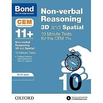 Bond 11 +: CEM 3D Non-verbale redenering 10 minuten Tests