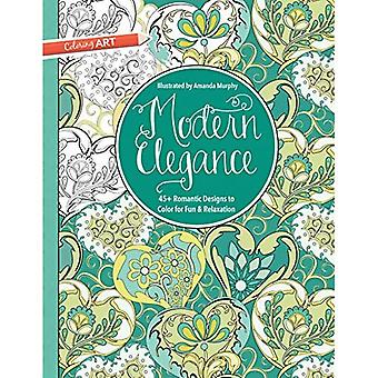 Modern Elegance: 45+ Weirdly Wonderful Designs to Color for Fun & Relaxation (Coloring Art)