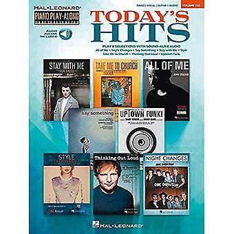 Piano spela-Along volym 132: Dagens Hits (Hal Leonard Piano spela-Along)