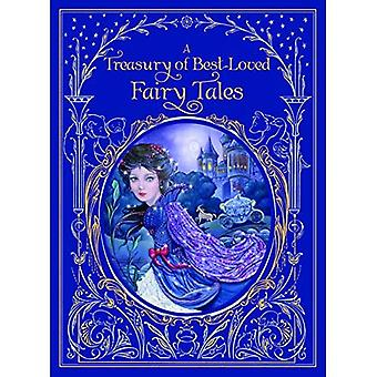 Treasury of Best-loved Fairy Tales, A (Barnes & Noble Leatherbound Classics)