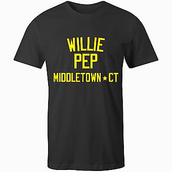 Willie Pep Boxing Legend T-Shirt
