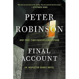 Final Account - An Inspector Banks Novel by Peter Robinson - 978006243