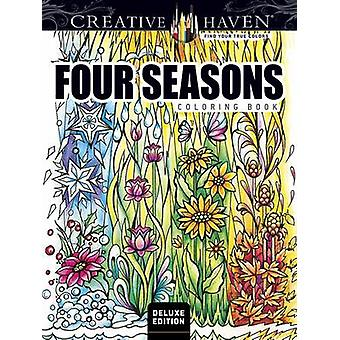 Creative Haven Four Seasons Coloring Book by Miryam Adatto - 97804868