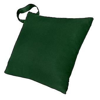 Children's Green Water Resistant Scatter Cushion with Handle