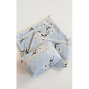 IKRUSH Womens Cloe Flower Print Set of 3 Bags
