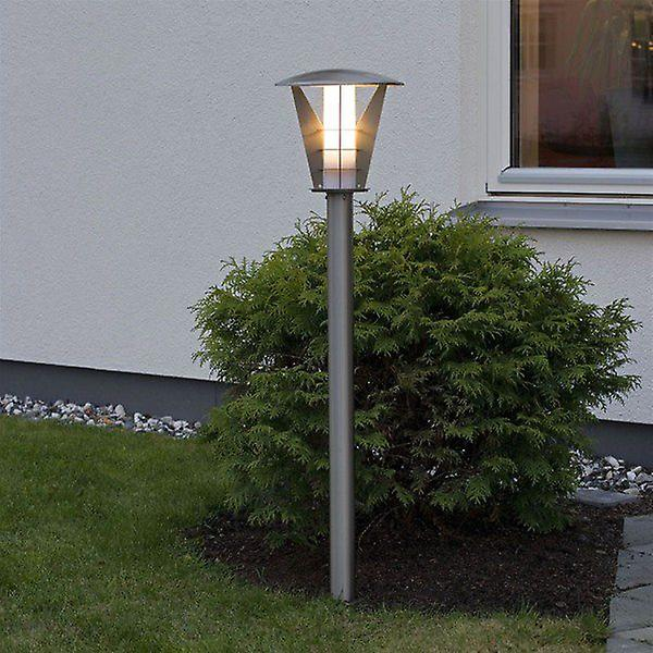 Konstsmide 7344-000 Livorno Garden Steel Post Light