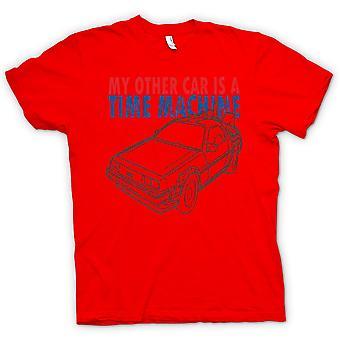 メンズ t シャツ-私の他の車はタイムマシン - おかしい