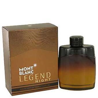 Montblanc Legend Night door Mont Blanc Eau de parfum spray 3,3 oz (mannen) V728-538396