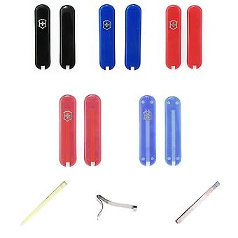 Victorinox 58mm Swiss army knife spares - tweezers toothpick spring handles