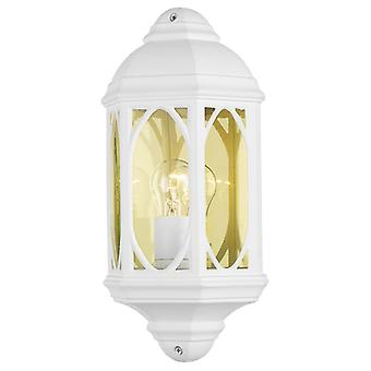 Tenby Wall Light Blanc Ip43