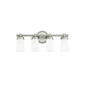 Sea Gull Lighting 44485BLE-965 Newport 4-Light Bath Antique Brushed Nickel