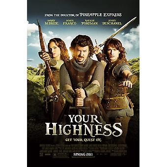 Your Highness Poster Double Sided Regular (2011) Original Cinema Poster Your Highness Poster Double Sided Regular (2011) Original Cinema Poster Your Highness Poster Double Sided Regular (2011) Original Cinema Poster Your High
