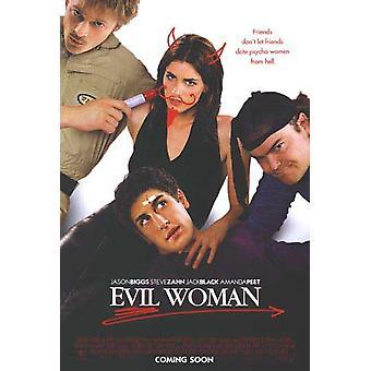 Böse Frau (Advance) (Doppelseitig) Original Kino Poster