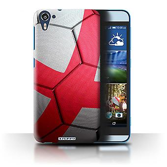 STUFF4 Case/Cover for HTC Desire 826/England/English/Football Nations